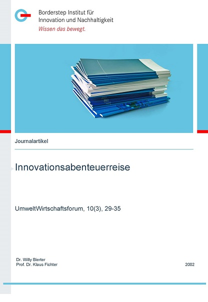 Cover Innovationsabenteuerreise