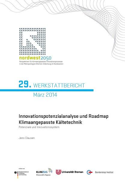 Cover Werkstattbericht Nr. 29