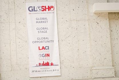 Global Showcase Transparent glosho