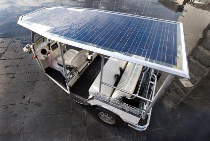 solarfahrrad als Beispiel für nachhaltige Geschäftsmodelle