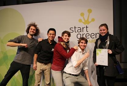 Sieger StartGreen Award