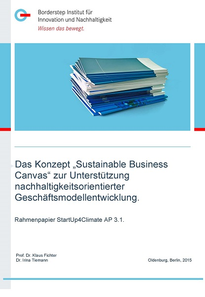 Cover Sustainable Business Canvas