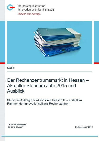 Cover Studie Der Rechenzentrumsmarkt in Hessen
