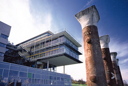 Gebäude der Hochschule Pforzheim, Ort der Ringvorlesung Ressourceneffizienz