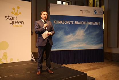 Klaus Fichter bei den Einführungstagen des Wista Accelerator Programm