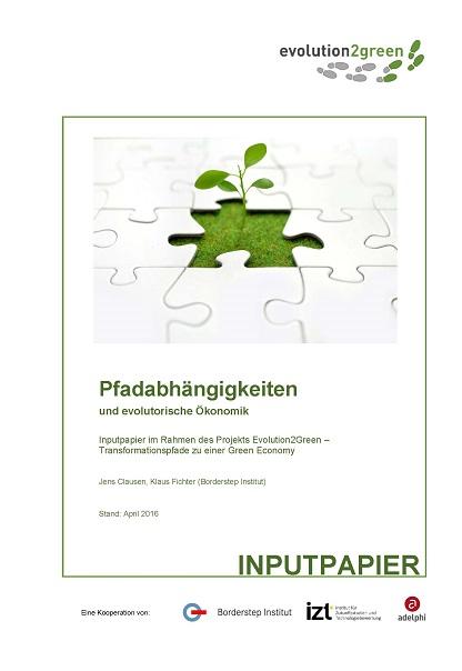 Cover Pfadabhängigkeiten und evolutorische Ökonomik
