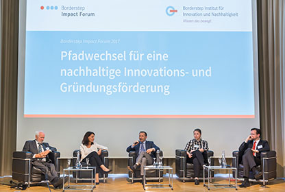 Impact Forum 2017, Podiumsdiskussion Borderstep Impact Forum